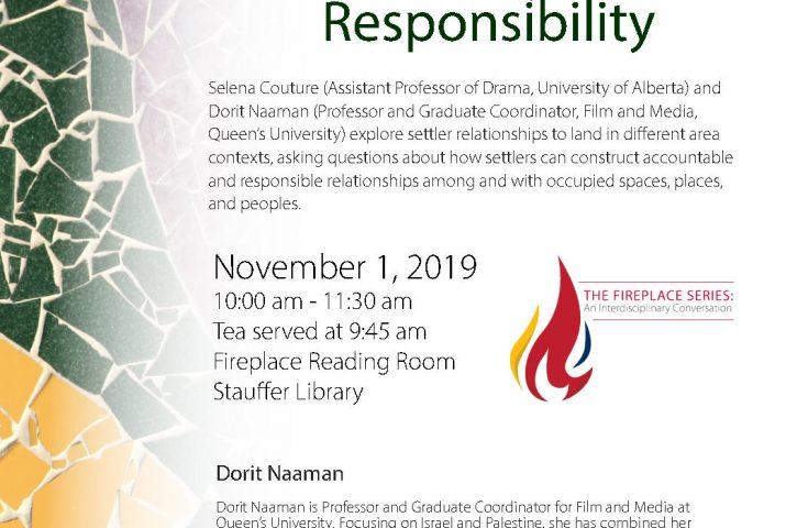 Settler Accountability and Responsibility