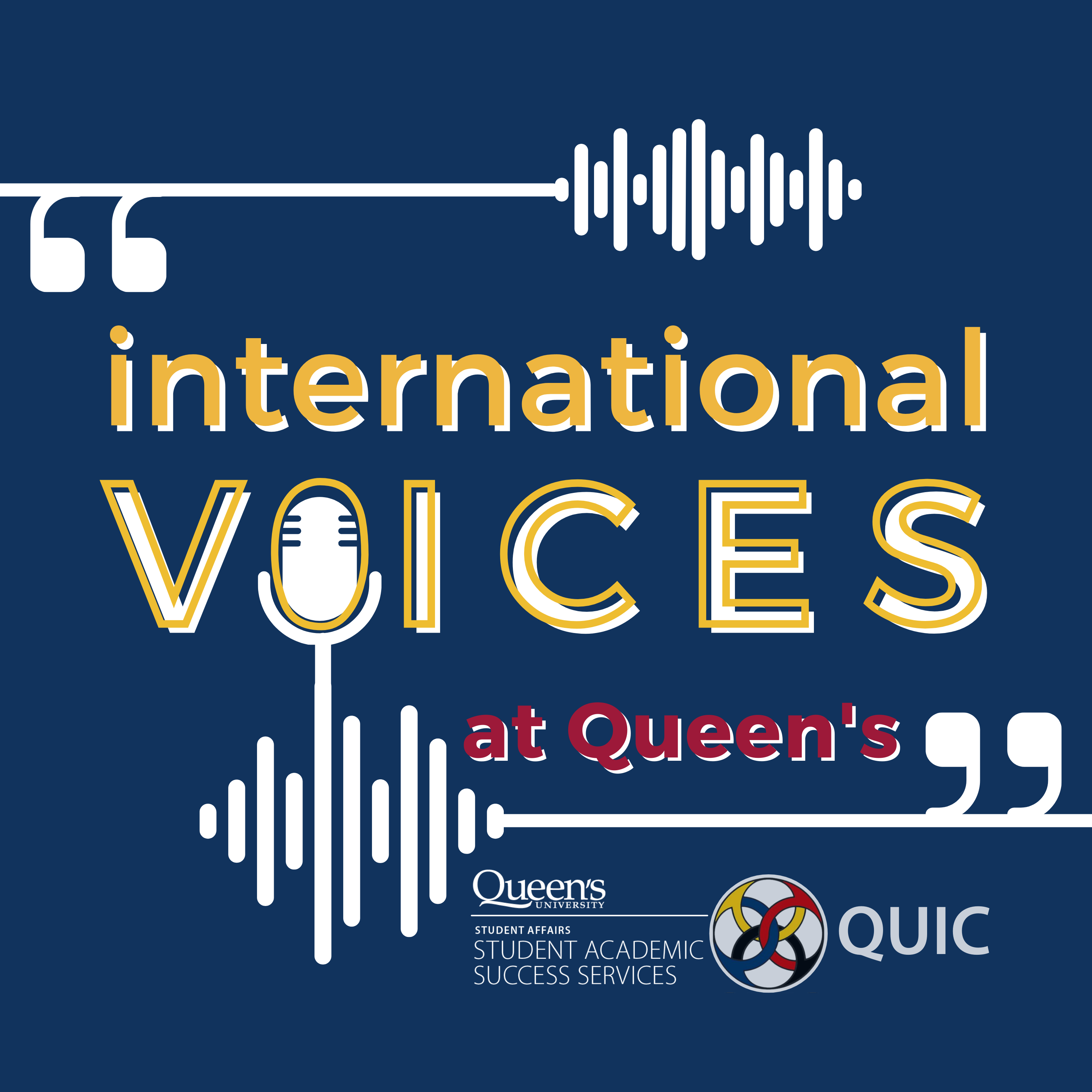 International Voices at Queen's - CFRC Podcast Network